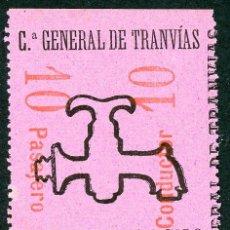 Coleccionismo Billetes de transporte: F06/4- BILLETE ABONO DE CGT // RAREZA RR // 1896. Lote 244655995