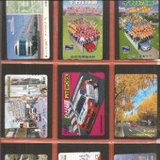 Coleccionismo Billetes de transporte: LOTE 18 TARJETAS-BILLETES TRANSPORTE, JAPÓN, METRO-AUTOBÚS-FERROCARRIL. Lote 245547975