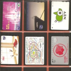 Coleccionismo Billetes de transporte: LOTE 18 TARJETAS-BILLETES TRANSPORTE, JAPÓN, METRO-AUTOBÚS-FERROCARRIL. Lote 245548660