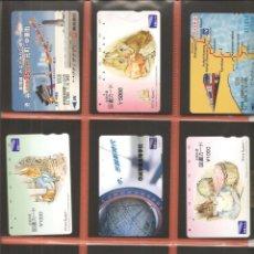 Coleccionismo Billetes de transporte: LOTE 18 TARJETAS-BILLETES TRANSPORTE, JAPÓN, METRO-AUTOBÚS-FERROCARRIL. Lote 245549150