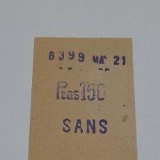 Coleccionismo Billetes de transporte: BILLETE ANTIGUO F.C. BARCELONA. VER FOTOS.. Lote 246157070