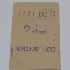 Coleccionismo Billetes de transporte: BILLETE ANTIGUO F. C. BARCELONA. VER FOTOS.. Lote 246158260
