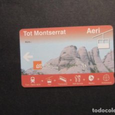 Collectionnisme Billets de transport: TARJETA TOT MONSERRAT AERI AEREO. Lote 249283575