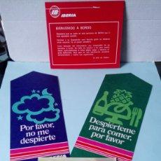 Coleccionismo Billetes de transporte: LOTE 1 IBERIA AÑOS 60.. Lote 253957525
