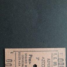 Collectionnisme Billets de transport: BILLETE DE CARTÓN. Lote 254222740
