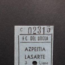 Collectionnisme Billets de transport: BILLETE DE CARTÓN. Lote 254223535
