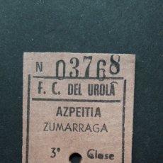 Collectionnisme Billets de transport: BILLETE DE CARTÓN. Lote 254224020