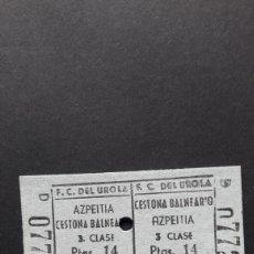 Collectionnisme Billets de transport: BILLETE DE CARTÓN. Lote 254225890