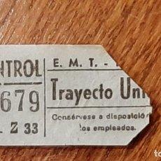 Coleccionismo Billetes de transporte: CAPICÚA 97679 EMT. Lote 254286765