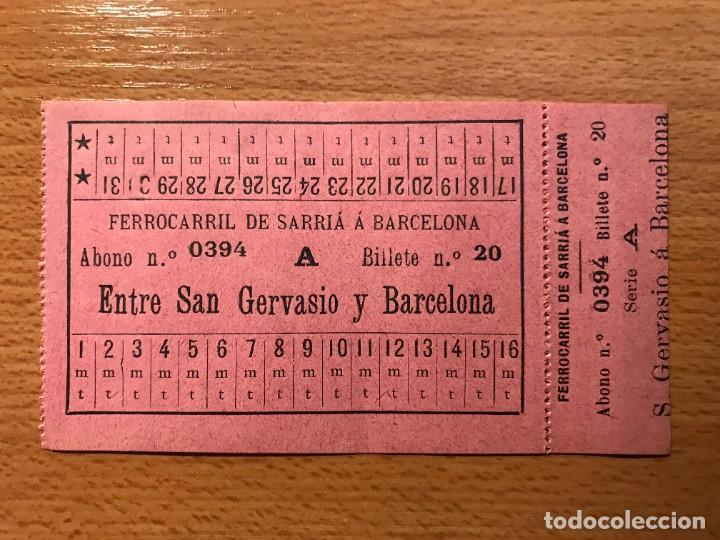 Coleccionismo Billetes de transporte: INTERESANTE Y RARO CONJUNTO DE 3 BILLETES DE TRANSPORTE - Foto 4 - 264329932