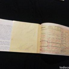 Colecionismos Bilhetes de Transporte: SPANTAX AÑO 1980, BILLETE AVION. Lote 276975658