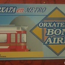 Coleccionismo Billetes de transporte: METRO VALENCIA. INVITACIÓN HORCHATA EN ALBORAYA. Lote 277090068