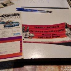 Coleccionismo Billetes de transporte: IBERIA PUBLICIDAD ATESA COCHE DE ALQUILER. Lote 288556098