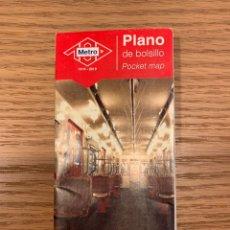 Collezionismo Biglietti di trasporto: PLANO EDICIÓN ESPECIAL CENTENARIO METRO DE MADRID 2019. Lote 296730863