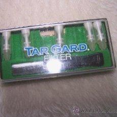 Boquillas de colección: BOQUILLA TAR GARD FILTER. CON CINCO FILTROS. Lote 26532534