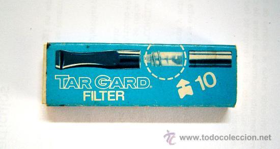 TAR GARD FILTER - LLEVA NUEVE FILTROS (Coleccionismo - Objetos para Fumar - Boquillas )