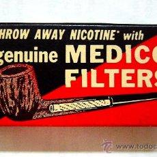 Boquillas de colección: MEDICO FILTERS - LLEVA TRES FILTROS. Lote 29908649