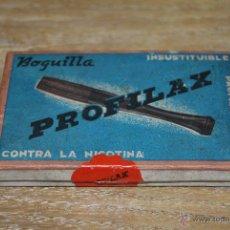 Boquillas de colección: CAJA DE BOQUILLA PARA FUMAR PROFILAX. Lote 42721228