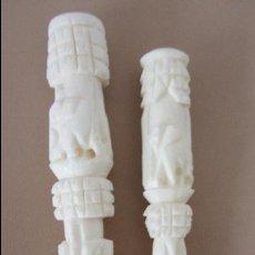 Boquillas de colección: BOQUILLAS DE HUESO TALLADO. Lote 46644727