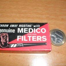 Boquillas de colección: ANTIGUA CAJA DE BOQUILLAS - MEDICO FILTERS. Lote 61333991