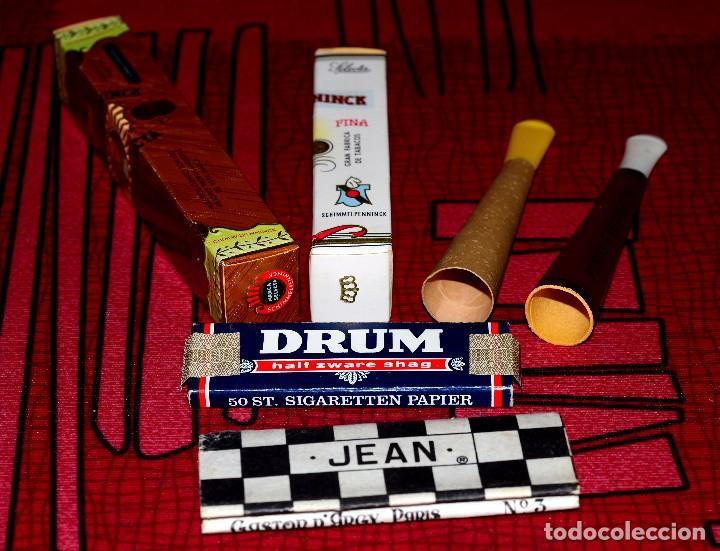 LOTE DE OBJETOS PARA FUMAR (Coleccionismo - Objetos para Fumar - Boquillas )