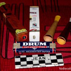 Boquillas de colección: LOTE DE OBJETOS PARA FUMAR. Lote 92822770