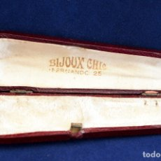 Boquillas de colección: ANTIGUA FUNDA PARA BOQUILLA DE PIPA BIJOUX CHIC. Lote 56694906