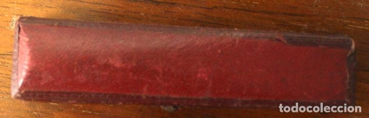 Boquillas de colección: BOQUILLA FRANCESA PARA FUMAR. OR CONTRÔLÉ. EN ESTUCHE ORIGINAL - Foto 3 - 128887414