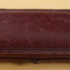 Boquillas de colección: CAJA EN PIEL GRANATE PARA BOQUILLA DE AMBAR. Lote 129148368