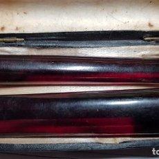 Boquillas de colección: SET DE 2 BOQUILLAS DE PIPA CON SU ESTUCHE. Lote 134342570