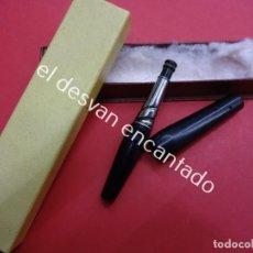 Boquillas de colección: MUY ANTIGUA Y ELEGANTE BOQUILLA PARA CIGARRILLOS EN CAJA. Lote 183937411
