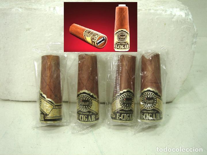 RARAS BOQUILLAS PARA CIGARRILO ELECTRICO-VOLISH E-CIGAR ¡¡NUEVAS¡¡ PURO TABACO VAPERS CIGARRO - (Coleccionismo - Objetos para Fumar - Boquillas )