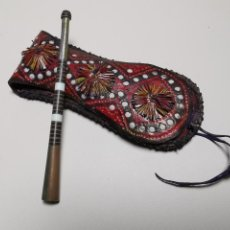 Bocchini di collezione: ANTIGUA BOQUILLA BEREBER AÑOS 50-60 CON SU FUNDA. Lote 191007913