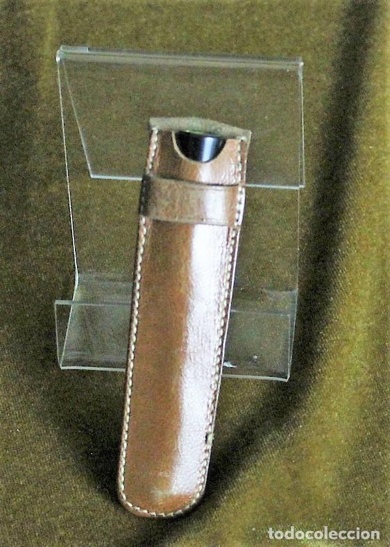 Boquillas de colección: Boquilla,hueso y latón,con funda de cuero,9 cm de longitud - Foto 2 - 193403738