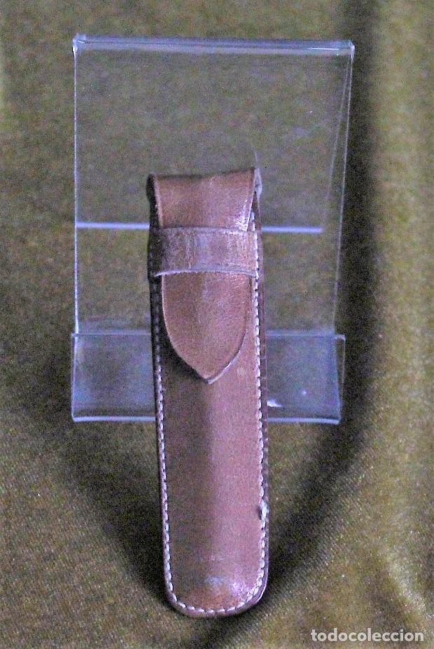 Boquillas de colección: Boquilla,hueso y latón,con funda de cuero,9 cm de longitud - Foto 3 - 193403738