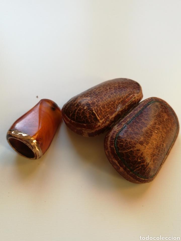 Boquillas de colección: Boquilla Ambar sin uso principio de sigloXX - Foto 2 - 200288325