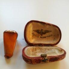 Boquillas de colección: BOQUILLA AMBAR SIN USO PRINCIPIO DE SIGLOXX. Lote 200288325