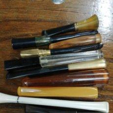 Boquillas de colección: 10 BOQUILLAS FUMAR. LOTE.. Lote 204475630