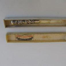 Boquillas de colección: CAJA CON BOQUILLA PLATA Y HUESO EXTENSIBLE. DRAGÓN BOLA DE FUEGO. HOLLAND. Lote 205240735