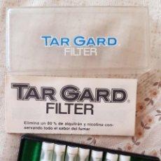 Boquillas de colección: FILTROS PARA CIGARRILLOS VINTAGE - TAR GARD FILTER EN SU CAJA - HAY 7 FILTROS. Lote 268288669