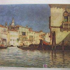 Coleccionismo de carteles: L0003 EL GRAN CANAL DE VENECIA - MAS EN MI TIENDA - &ALF. Lote 3921621