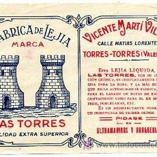 Coleccionismo de carteles: CARTEL ITO LEJIA LAS TORRES , VICENTE MARTI VILLAR ER404. Lote 65732161