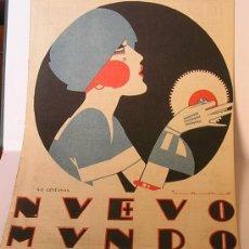 Coleccionismo de carteles: CUBIERTA ORIGINAL LITOGRAFICA DE NUEVO MUNDO.ILUSTRACION DE TONO.CIRCA 1920.. Lote 16801164