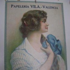 Coleccionismo de carteles: PAPELERIA VILA-VALENCIA. Lote 17367493
