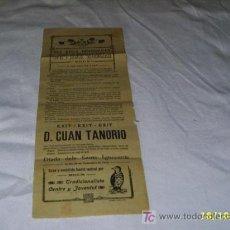 Coleccionismo de carteles: DIADA DELS SANTS IGNOCENTS ,-CENTRE Y JOVENTUT TRADICIONALISTA DE REUS -AÑO 1912. Lote 27119727