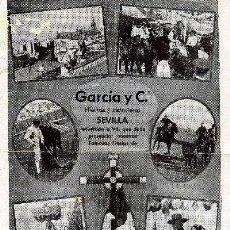 Coleccionismo de carteles: SEMANA SANTA Y FERIA DE SEVILLA. Lote 17771711