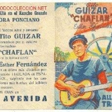 Coleccionismo de carteles: ALLA EN EL TROPICO. Lote 6154294