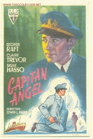 CAPITAN ANGEL ( 1948 ) (Coleccionismo - Carteles Pequeño Formato)
