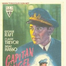 Coleccionismo de carteles: CAPITAN ANGEL ( 1948 ). Lote 2407680