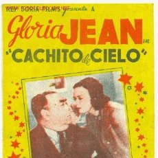 Coleccionismo de carteles: CACHITO DE CIELO ( DOBLE ). Lote 4440871